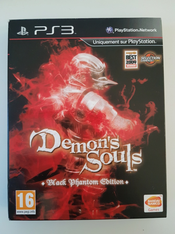 [ESTIM] Demon's Souls Black Phantom PS3 + Boite/Notice Golden Sun GBA 20200919