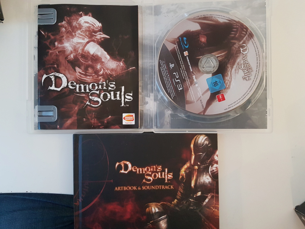 [ESTIM] Demon's Souls Black Phantom PS3 + Boite/Notice Golden Sun GBA 20200920