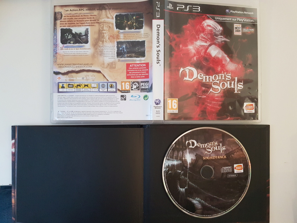 [ESTIM] Demon's Souls Black Phantom PS3 + Boite/Notice Golden Sun GBA 20200922