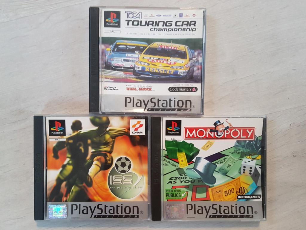 Objectif Fullset PS1 PAL Platinum = 76/152 jeux 20200960