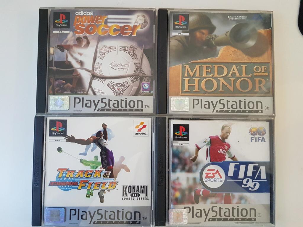 Objectif Fullset PS1 PAL Platinum = 76/152 jeux 20200967