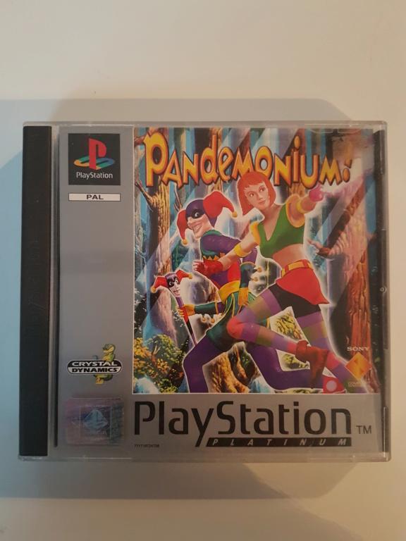 Objectif Fullset PS1 PAL Platinum = 76/152 jeux 20200968