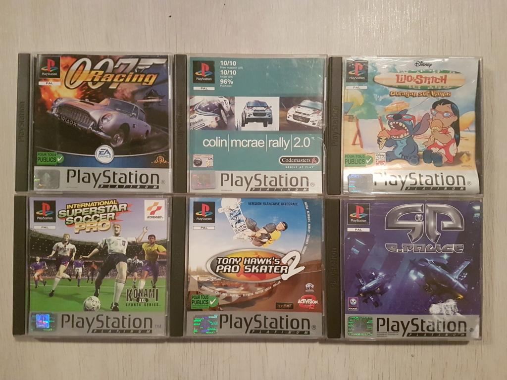 Objectif Fullset PS1 PAL Platinum = 76/152 jeux 20200973
