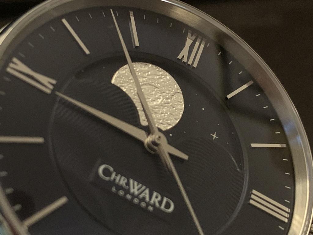 ward - [VENDU] Christopher Ward C9 Moonphase bleue - 850.00 € Img_2043