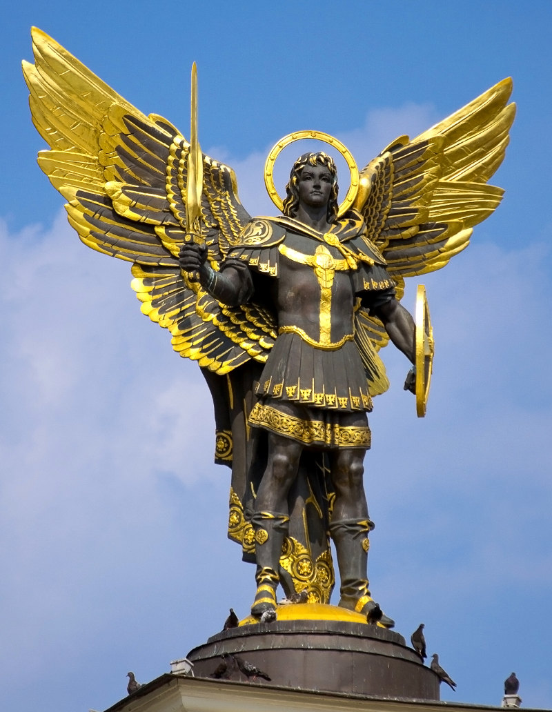 [PRIERE] PRIERE A SAINT MICHEL ARCHANGE Statue10