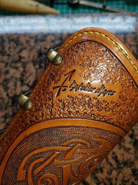 Un brassard motif Celtique et sa ceinture 36086910