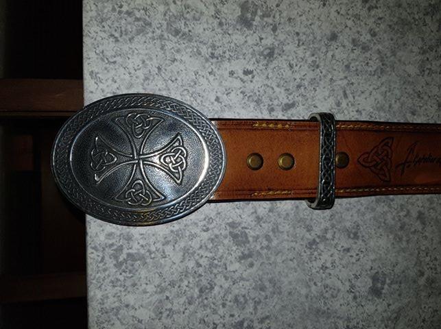 Un brassard motif Celtique et sa ceinture 36502310