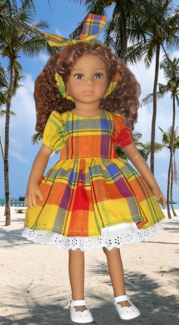 Tanya en tenue créole !  Dscn4510