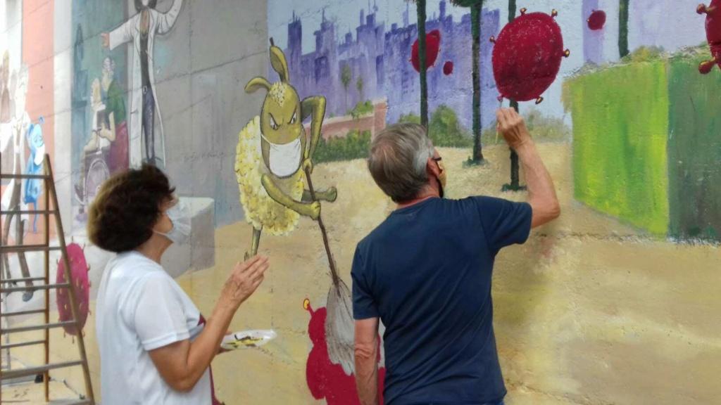 ACAP en Festa Major 2020 mural. 11585510