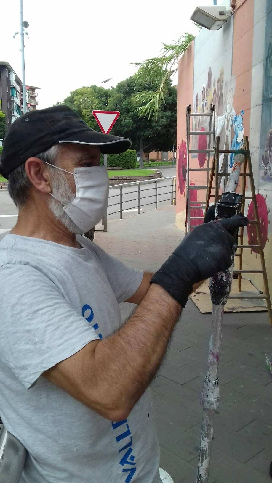 ACAP en Festa Major 2020 mural. 11588710
