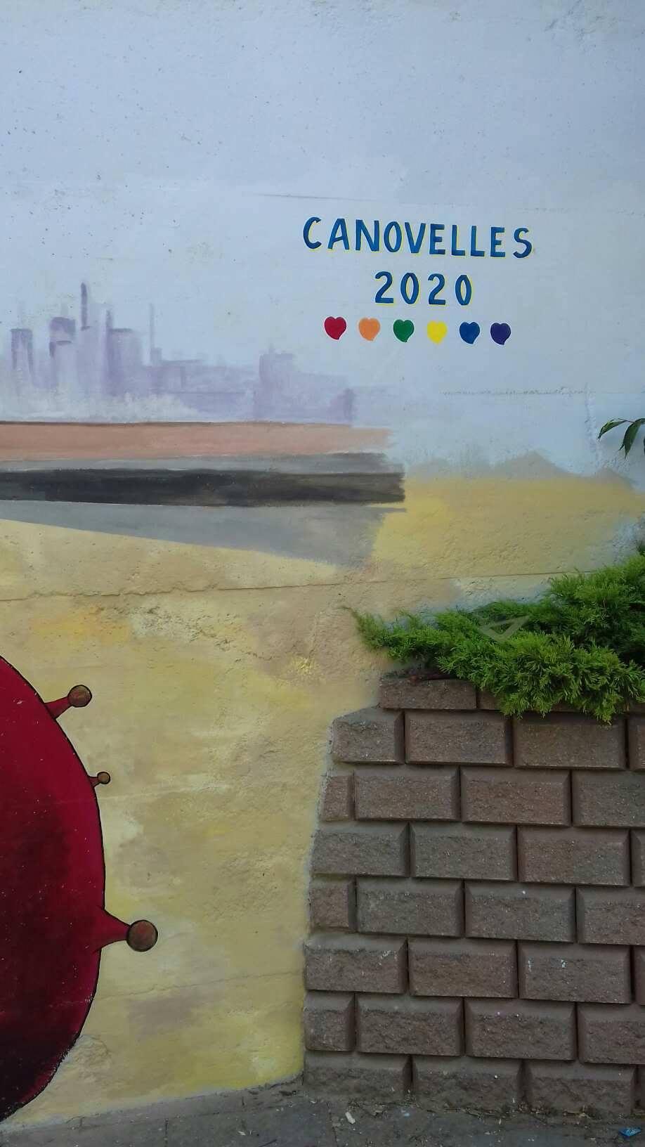 ACAP en Festa Major 2020 mural. 11589610