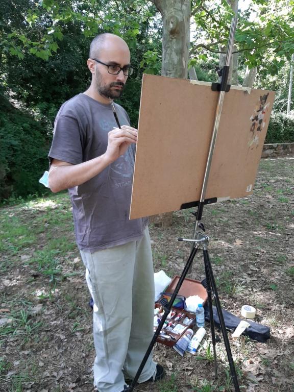 Pintura al aire libre 20200613