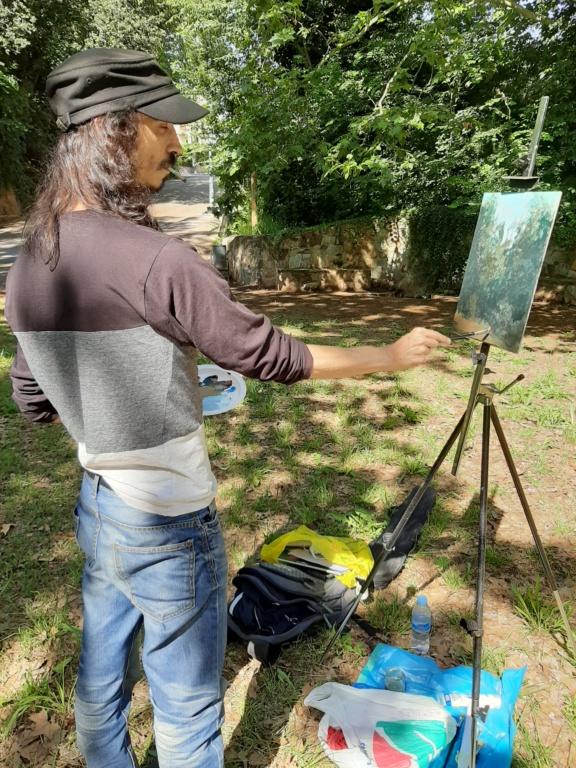 Pintura al aire libre 20200615