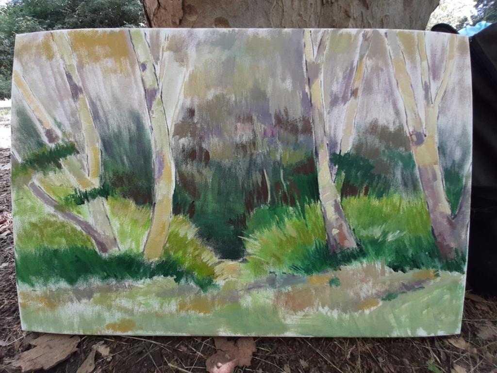 Pintura al aire libre 20200616