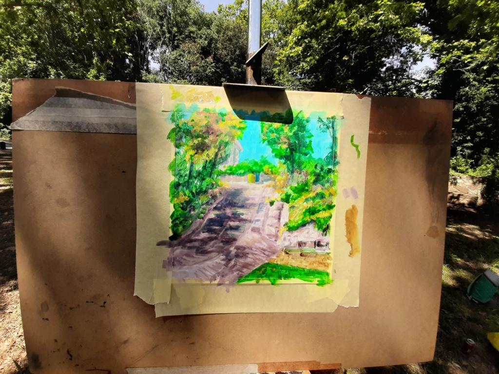 Pintura al aire libre 20200617