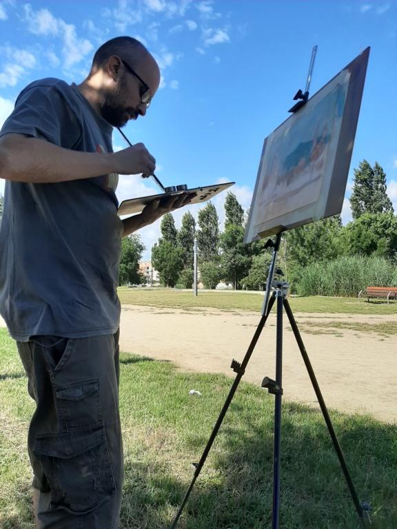 Pintura al aire libre 20200621