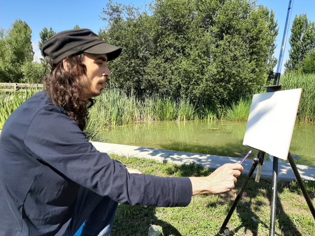 Pintura al aire libre 20200622