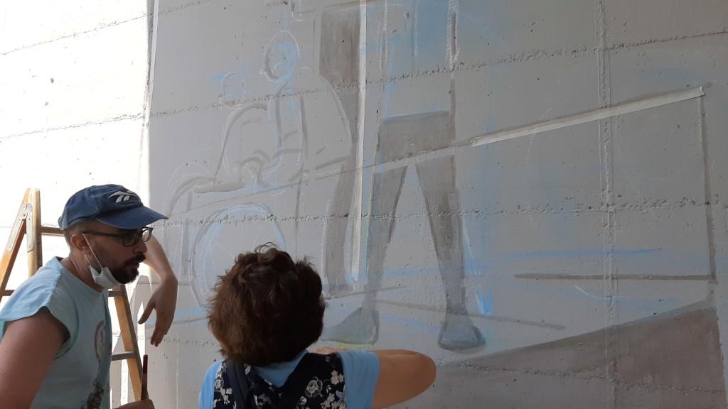 ACAP en Festa Major 2020 mural. 20200711