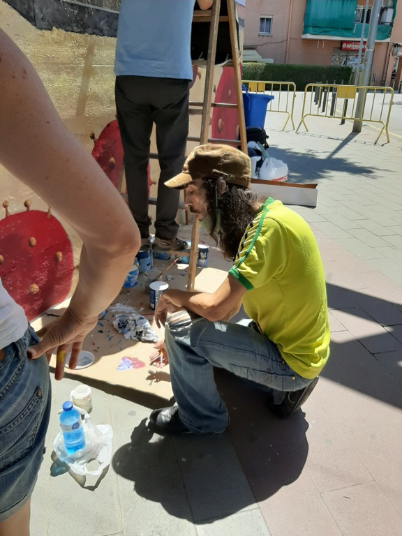 ACAP en Festa Major 2020 mural. 20200712