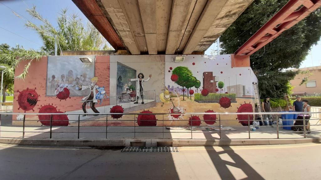 ACAP en Festa Major 2020 mural. 20200718