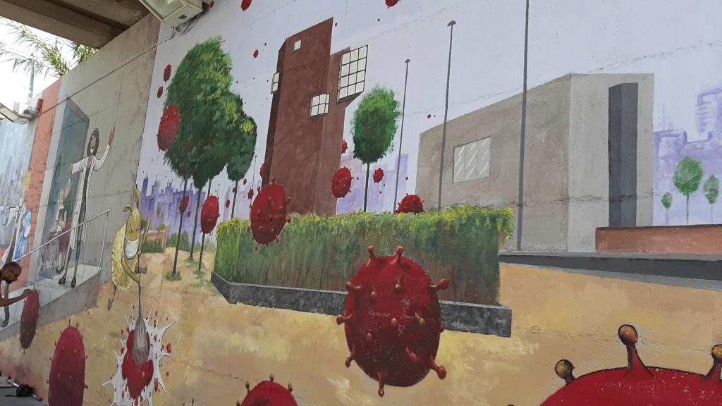 ACAP en Festa Major 2020 mural. 20200720
