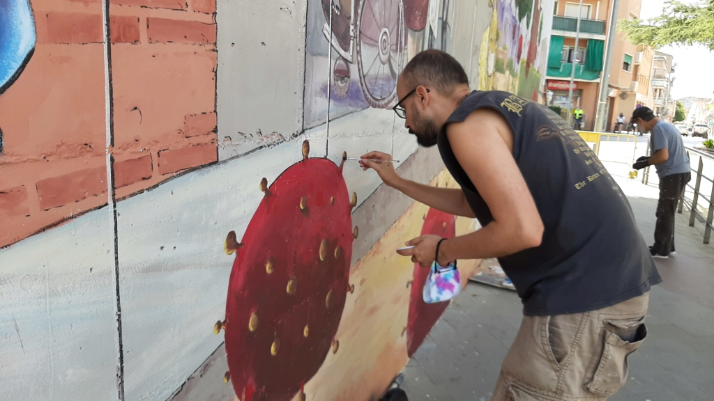 ACAP en Festa Major 2020 mural. 20200721