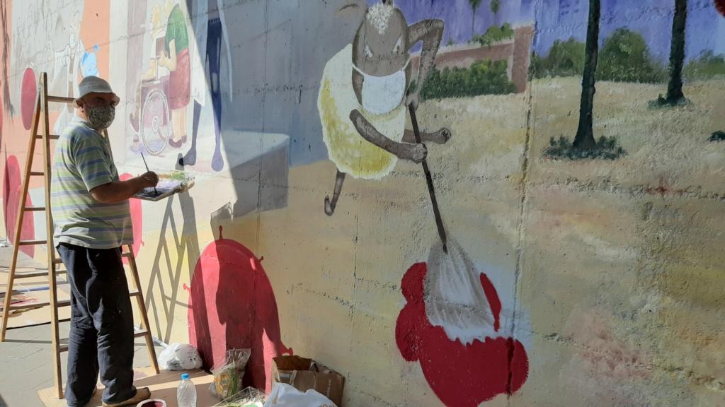 ACAP en Festa Major 2020 mural. 20200725