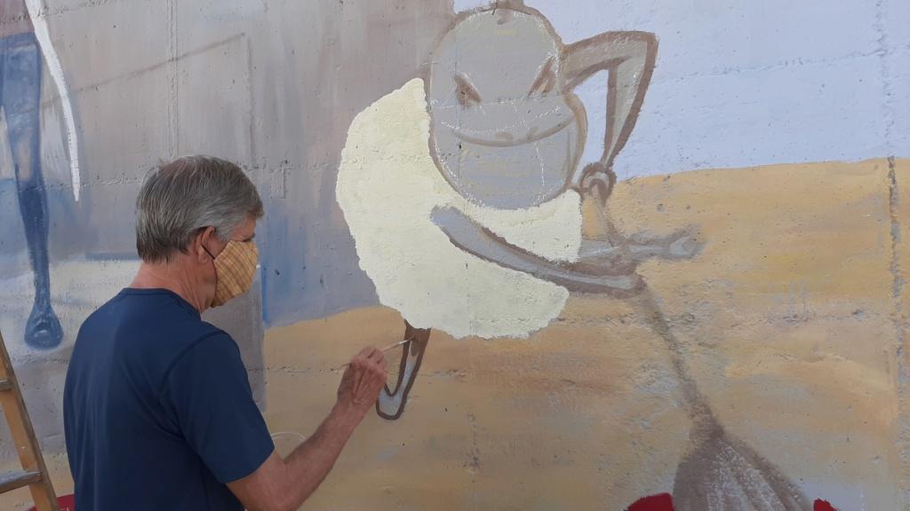 ACAP en Festa Major 2020 mural. 20200726