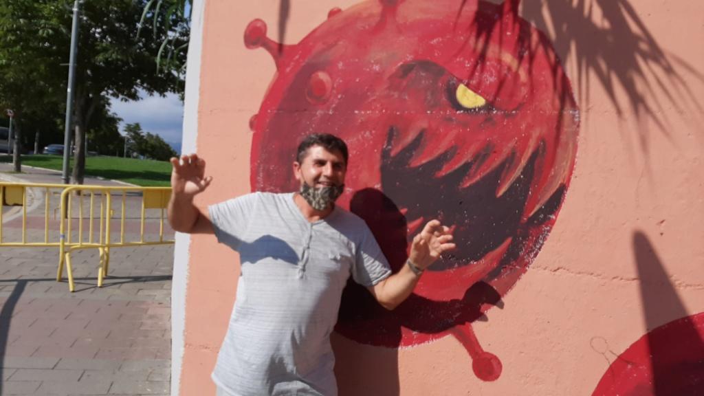 ACAP en Festa Major 2020 mural. 20200727