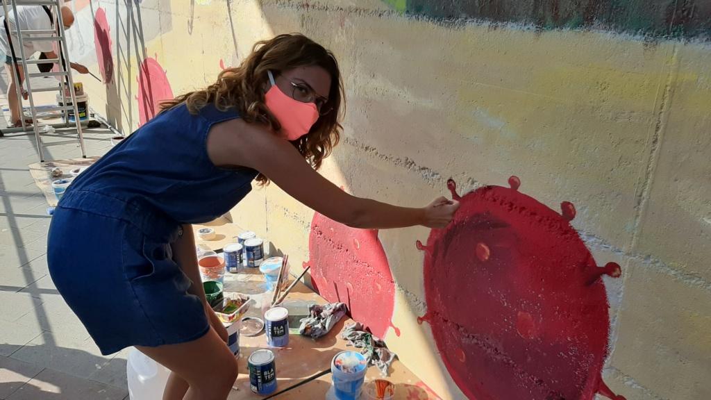 ACAP en Festa Major 2020 mural. 20200728