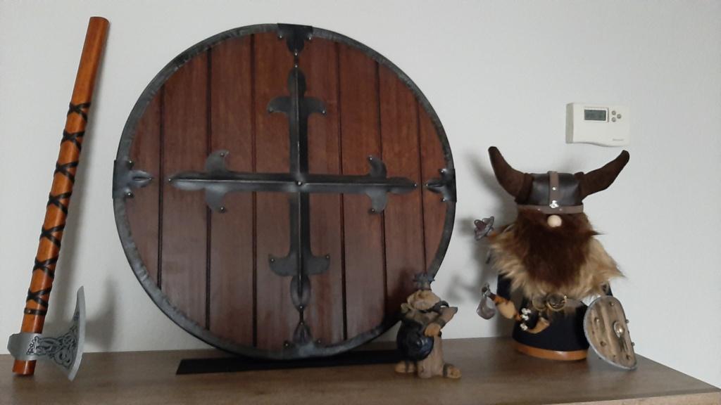 Vikingo..... Con retales y relleno de arroz. 20201110