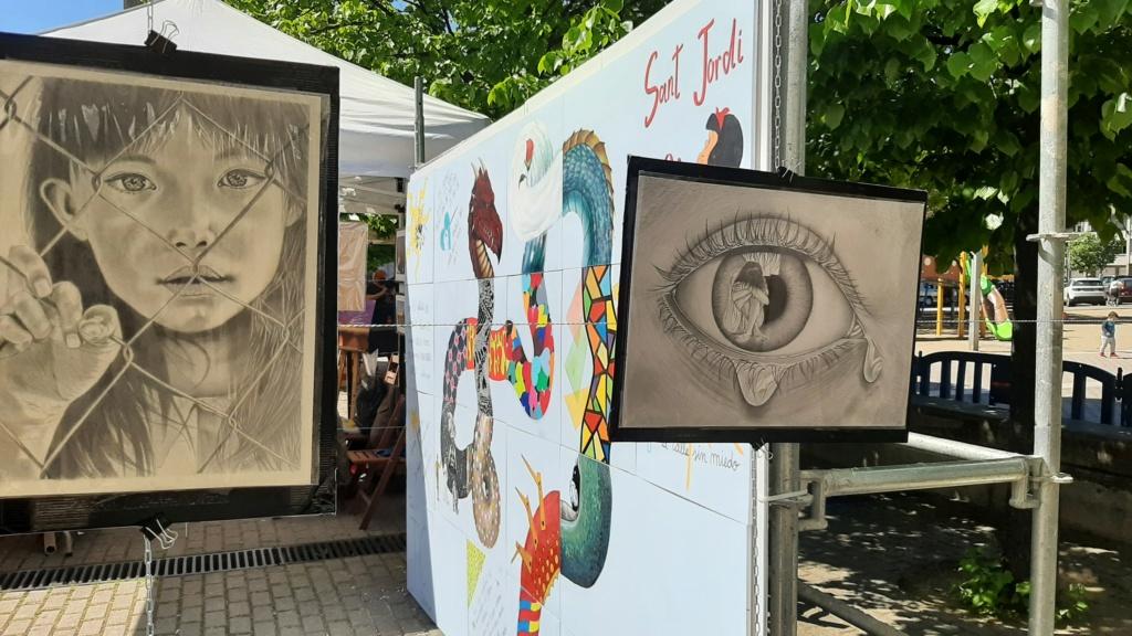 ACAP  exposición Sant Jordi 2021 20210423