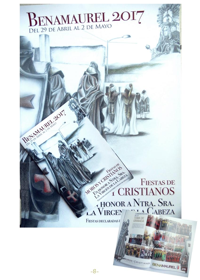 Fiestas de Moros y Cristianos .Premios. 810