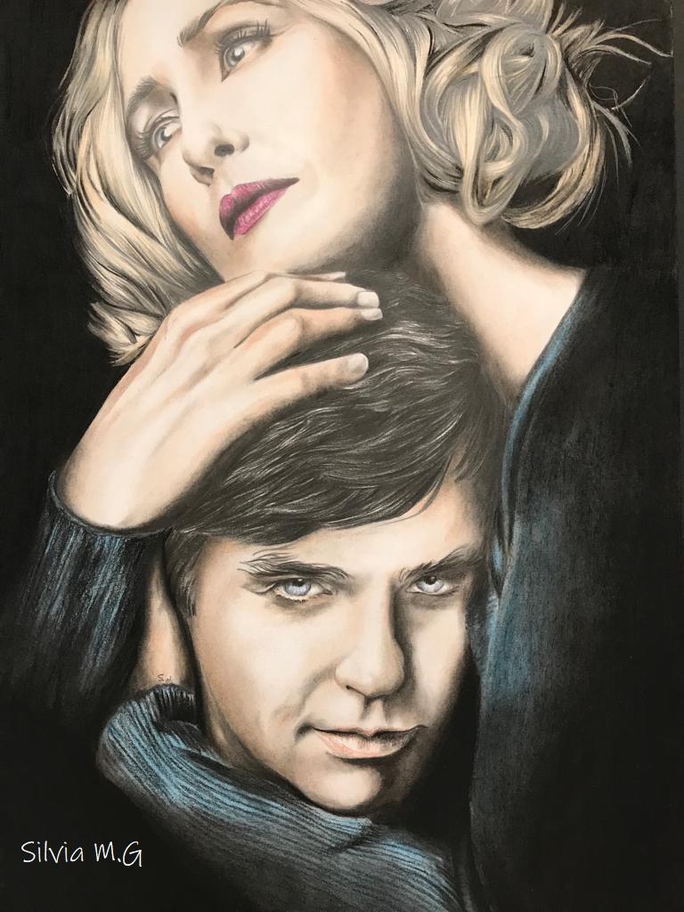 Norma y Norman Bates  (Bates Motel) Catsbz11