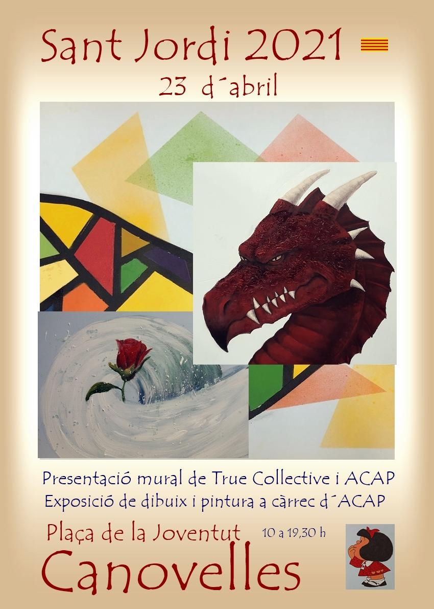 True Collective y ACAP en Sant Jordi 2021 Catsel10