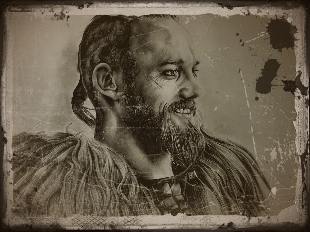 Uhtred de Bebbanburg y personajes de The Last Kingdom Catser11
