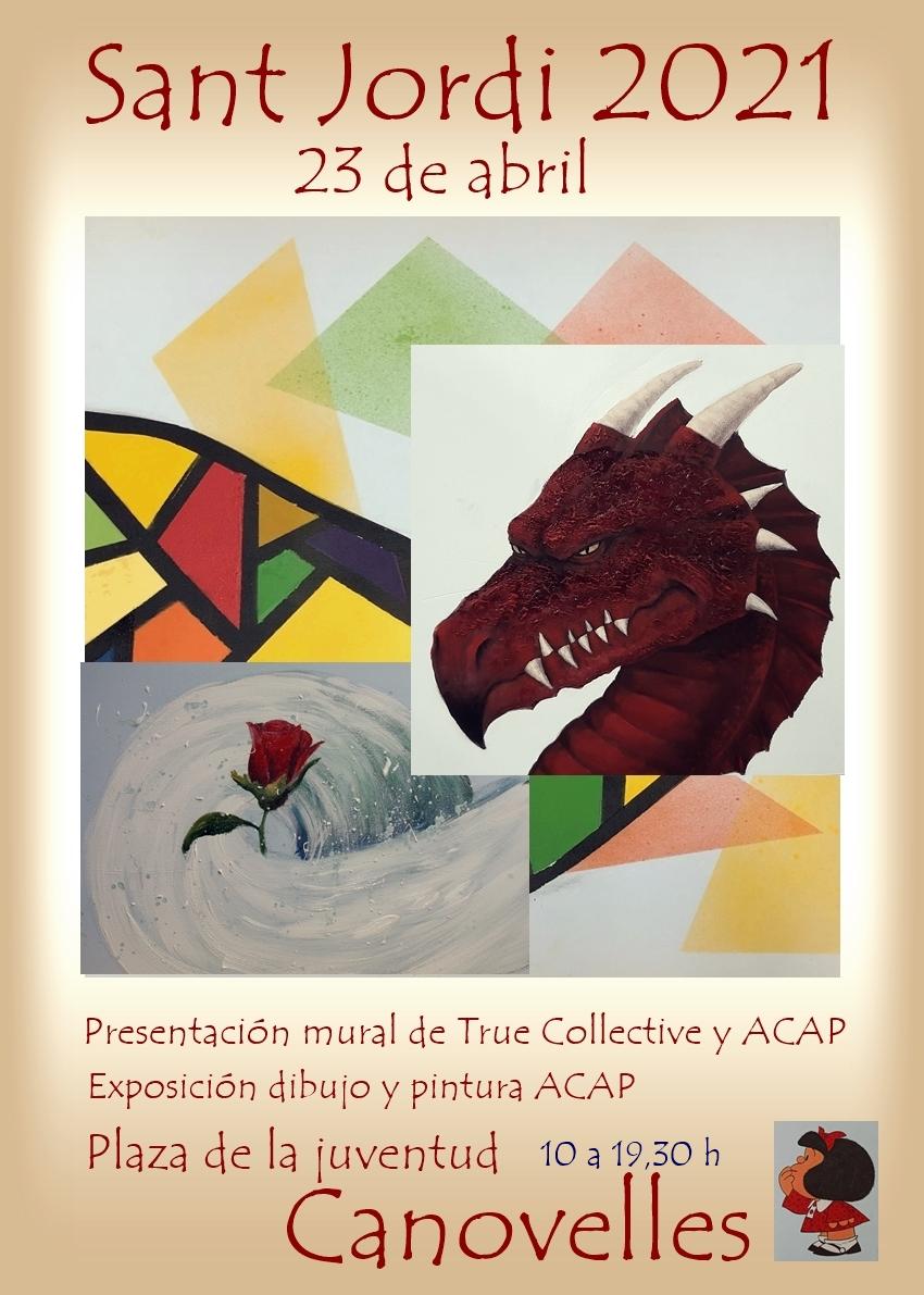 True Collective y ACAP en Sant Jordi 2021 Catses29