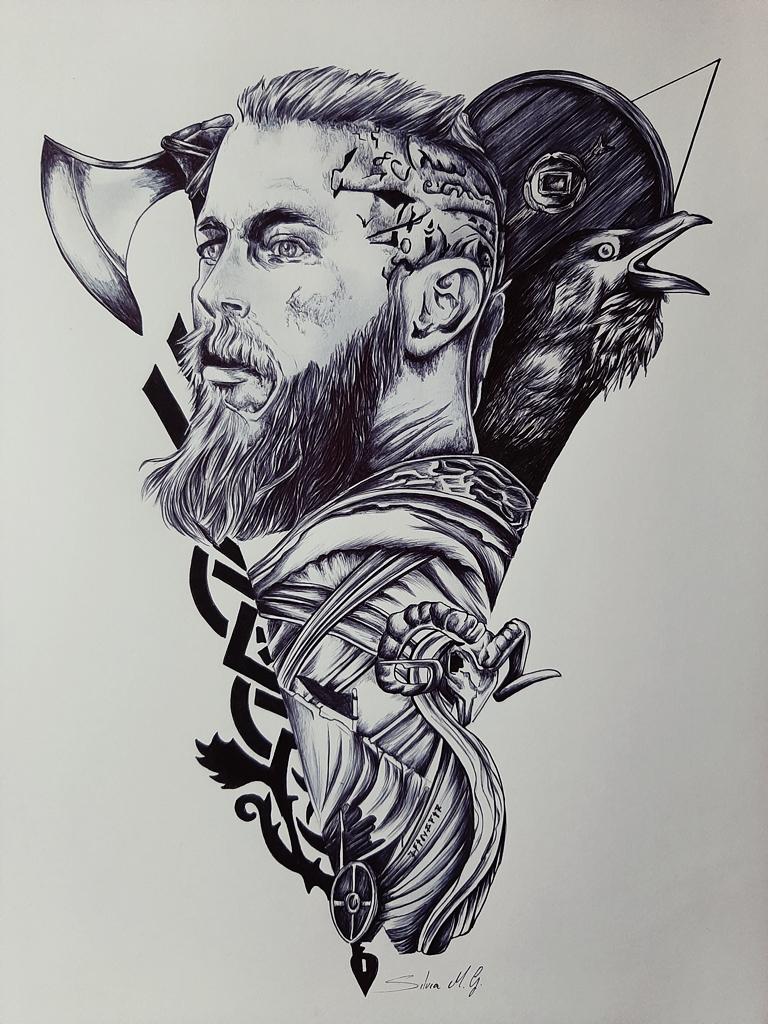 Ragnar Ragnar Lodbrok (Vikingos) Catsf11