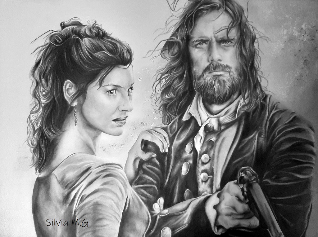 Jaimie y Claire Fraser Catsfg10