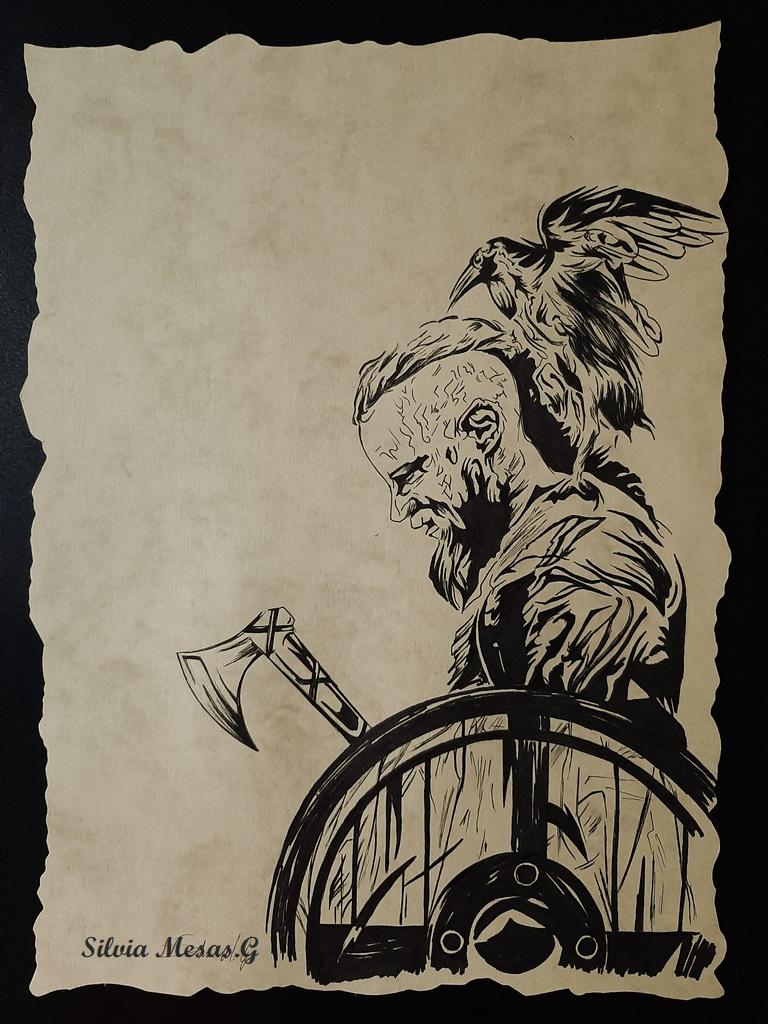 Ragnar Ragnar Lodbrok (Vikingos) Catskj16