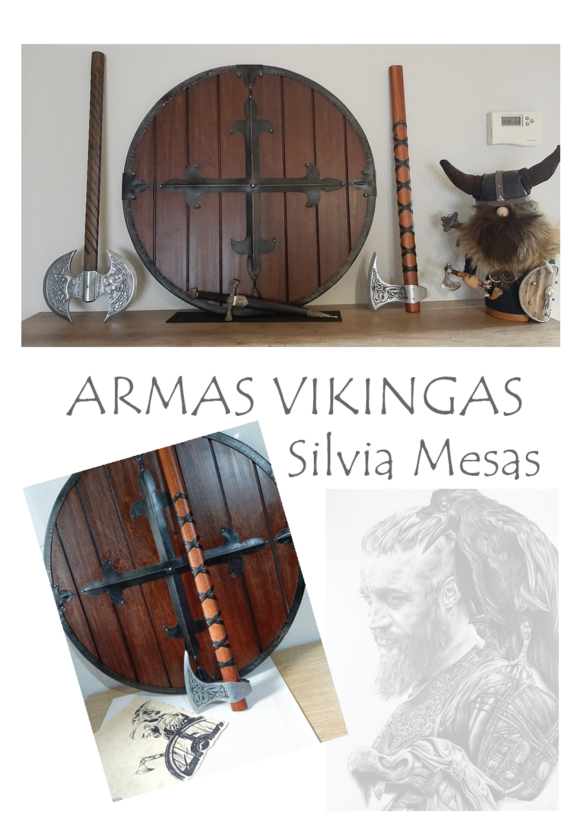 Colección de armas vikingas Catsll24