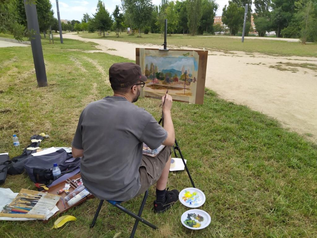 Pintura al aire libre Img-2091