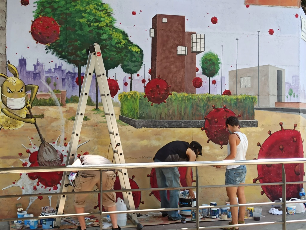 ACAP en Festa Major 2020 mural. Img-2094