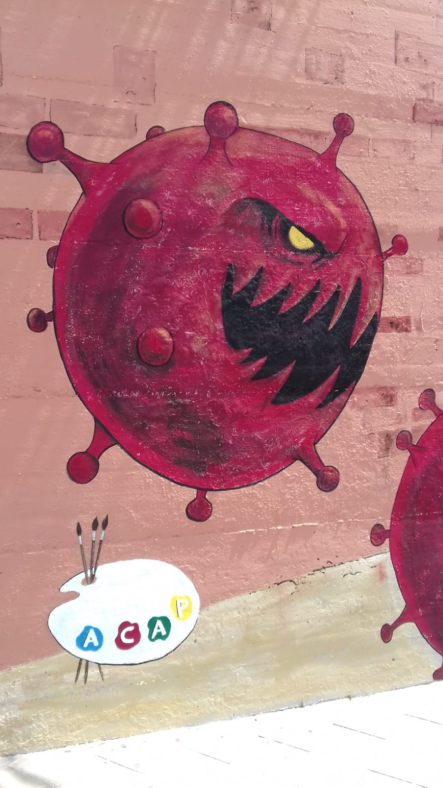 ACAP en Festa Major 2020 mural. Img-2095