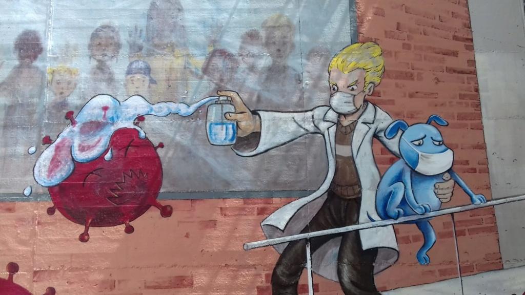 ACAP en Festa Major 2020 mural. Img-2097