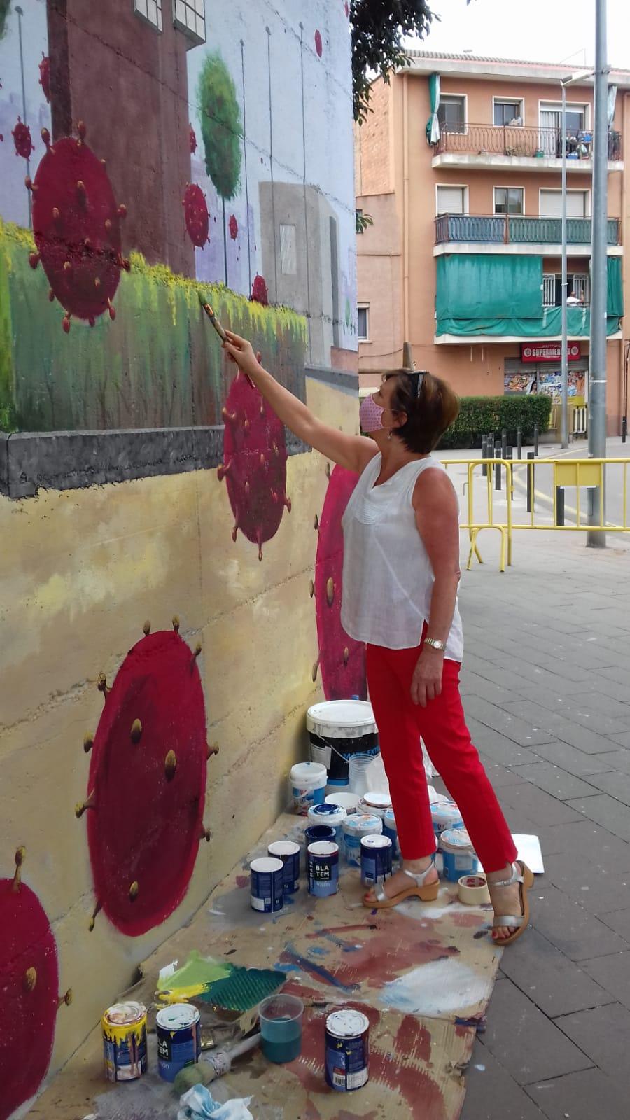 ACAP en Festa Major 2020 mural. Img-2098