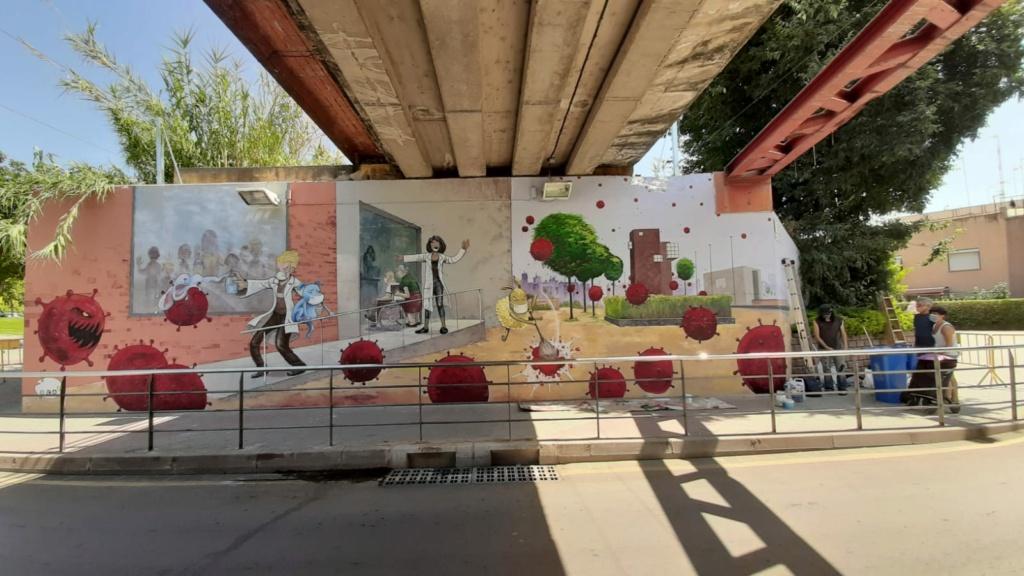 ACAP en Festa Major 2020 mural. Img-2100