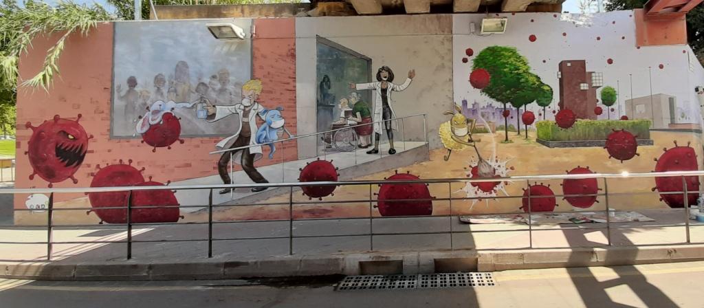 ACAP en Festa Major 2020 mural. Lkkkkj10