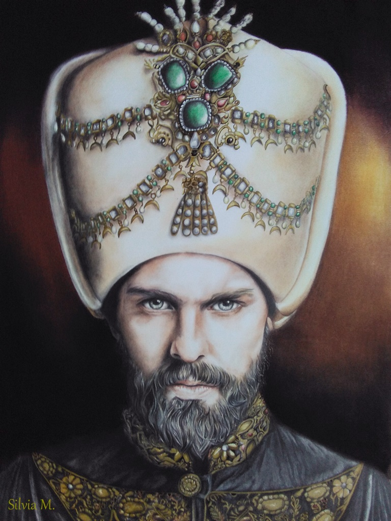 Mi lazo con el dibujo. Murad11