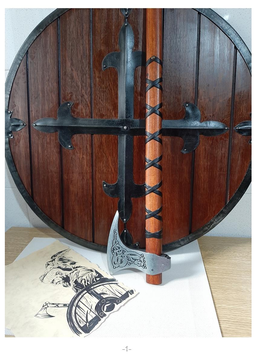 Colección de armas vikingas Mv110